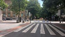Bilbao habilitará el sábado y domingo zonas peatonales en sus distritos para garantizar el distanciamiento