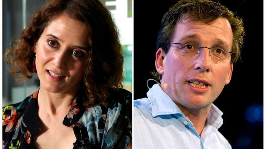 Díaz Ayuso, candidata del PP a la Comunidad de Madrid y Almeida a la Alcaldía