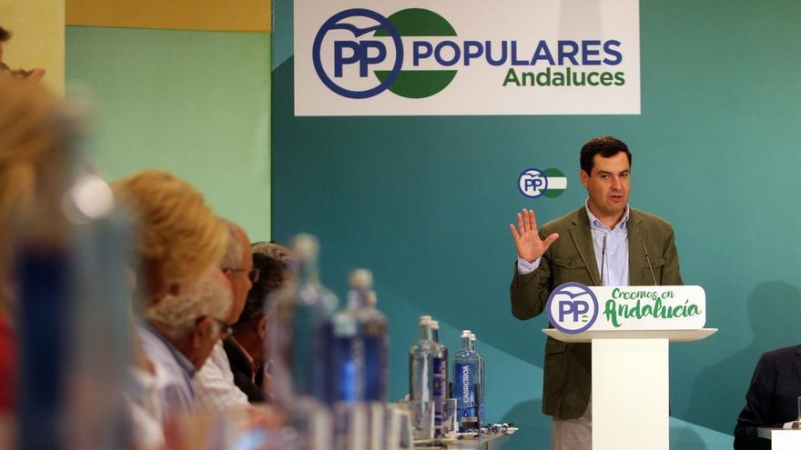 Moreno (PP-A) se reúne este sábado por primera vez con los presidentes provinciales tras los congresos