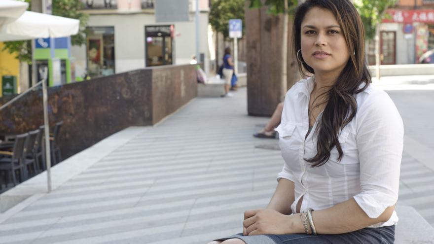 Ángela Florez, activista por los derechos de las personas transexuales
