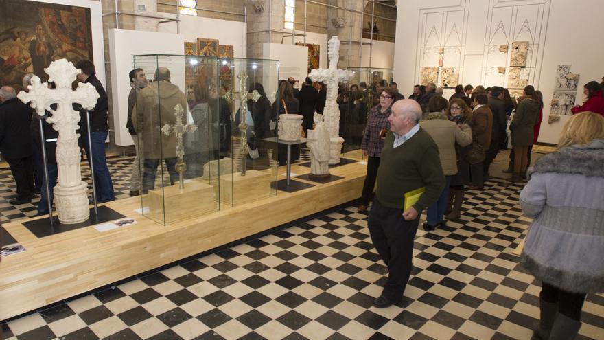 Imagen de la exposición de la Luz de las Imágenes en Culla i Catí.