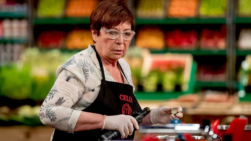 Celia Villalobos, en su último cocinado en 'Masterchef Celebrity 5'