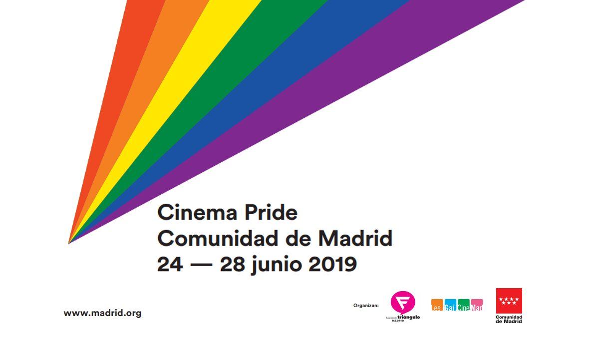 Cartel del Cinema Pride 2019 | LESGAICINEMAD