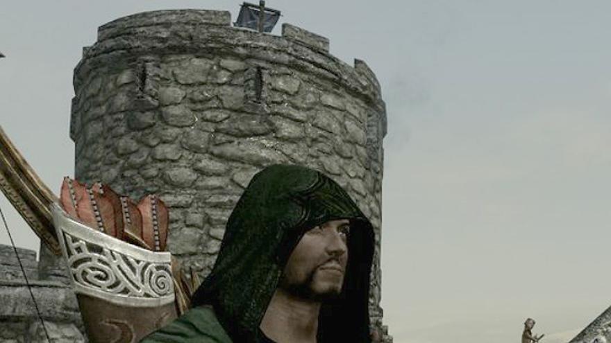 Uno de los personajes del videojuego 'The Elder Scrolls V: Skyrim' (Foto: Bethesda Game Studios)