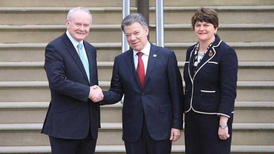 El Gobierno norirlandés confía en el éxito del proceso de paz en Colombia