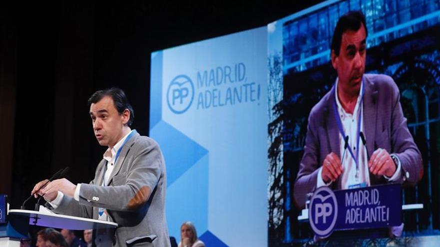 Martínez-Maíllo pide unidad a los candidatos del PP balear Bauzá y Company
