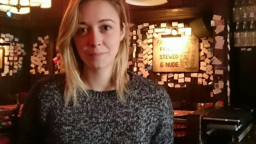 Sara Morán reside en Reino Unido desde hace cinco años. / Foto cedida