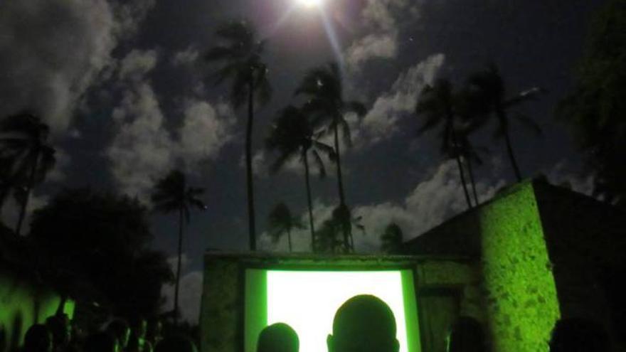 'Cinecicleta' en Mozambique