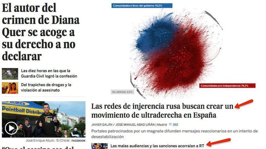Rusos en El País