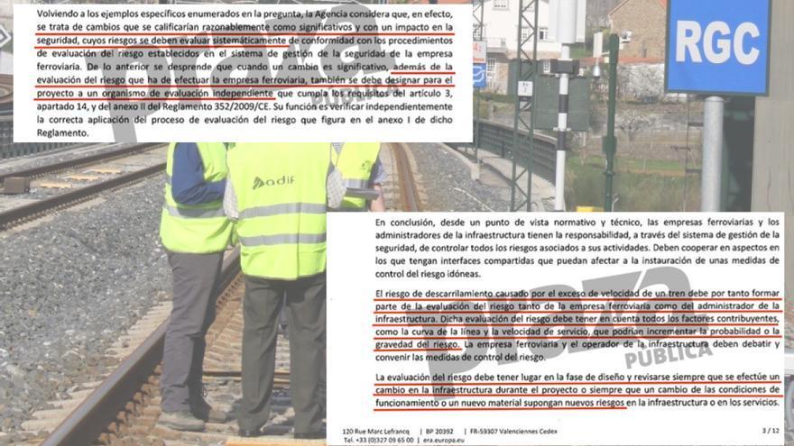La UE desmonta ante el juez los argumentos con los que Fomento culpa sólo al maquinista por el accidente del Alvia