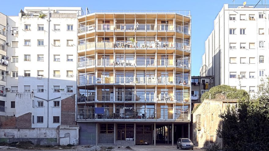 Imagen de la Borda, una cooperativa de viviendas en cesión de uso en Barcelona
