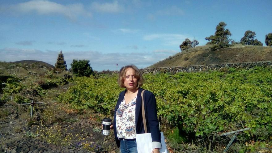 Eva Hernández es gerente del Consejo Regulador de Denominación de Origen Vinos La Palma.