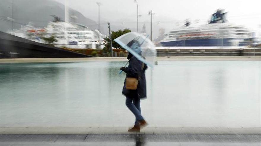 Las lluvias se quedan hoy en el noroeste y se recuperan las temperaturas