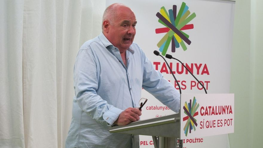 """El candidato de 'Cataluña sí que es pot' ve con escepticismo la comparecencia de Mas y cree que tirará """"pelotas fuera"""""""
