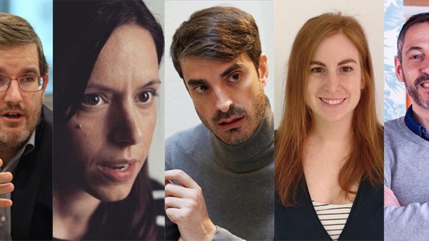 Ignacio Urquizu, Berta Batet, Pablo Simón, Sílvia Claveria, José Pablo Ferrándiz