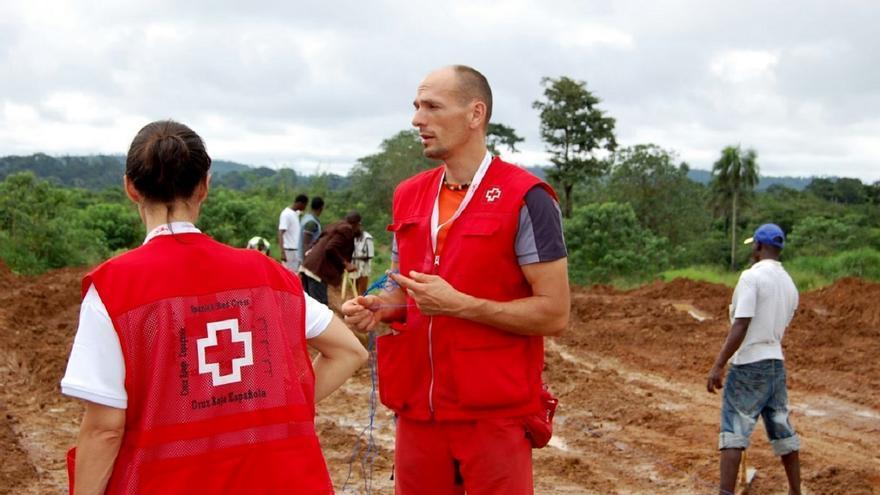 El delegado de Cruz Roja Navarra Pablo San Julián / Foto: cedida.