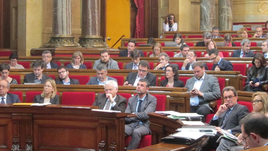 C's pide que Mas-Colell explique en el Parlamento catalán las balanzas fiscales