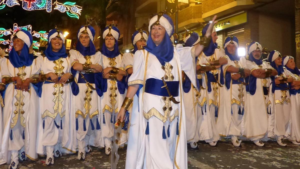 Los Moros y Cristianos de Ontinyent se celebran desde 1860.