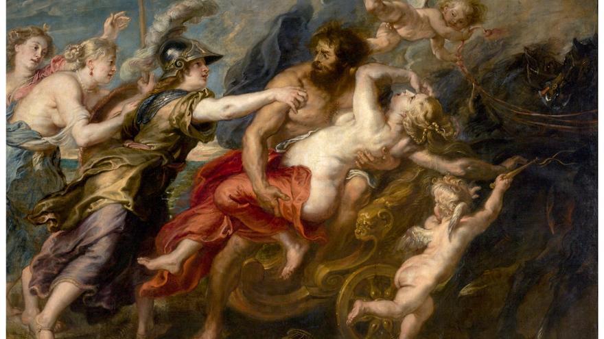'El rapto de Proserpina' (1636 - 1637). RUBENS, PEDRO PABLO.