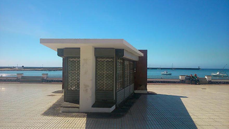 Kiosco del parque Ramírez Cerdá