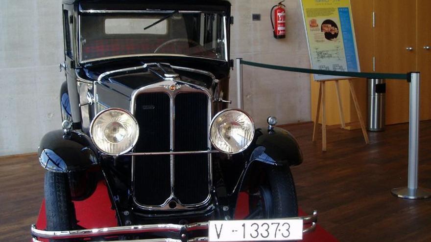 Automóvil modelo Hispano 514