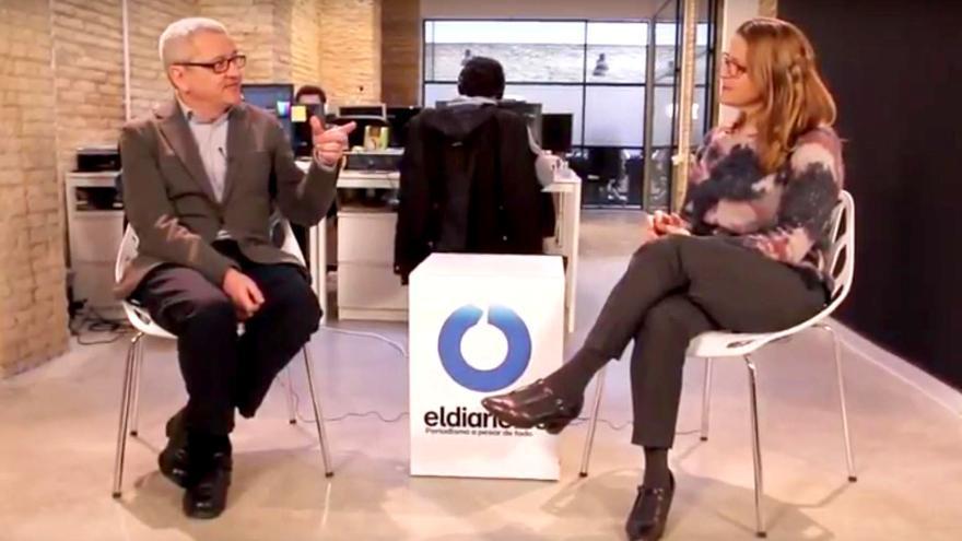 Adolf Beltran entrevista a la consellera de Agricultura, Elena Cebrián