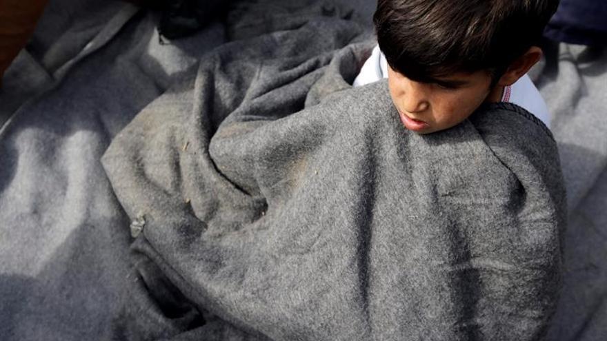 Piden 430 ONG una operación eficaz que evite que los refugiados se mueran de frío