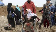 Atrapados en la primera línea de batalla contra el ISIS en Mosul