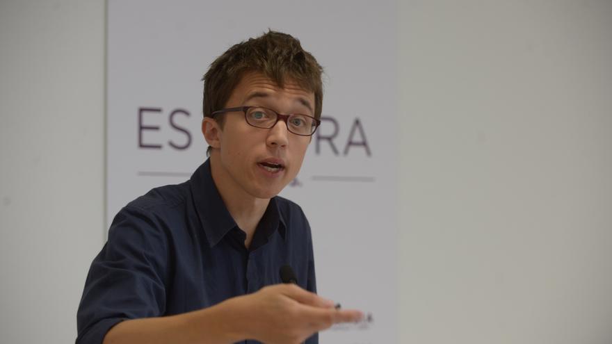 Íñigo Errejón presenta la campaña de Podemos para las autonómicas / Foto: Podemos