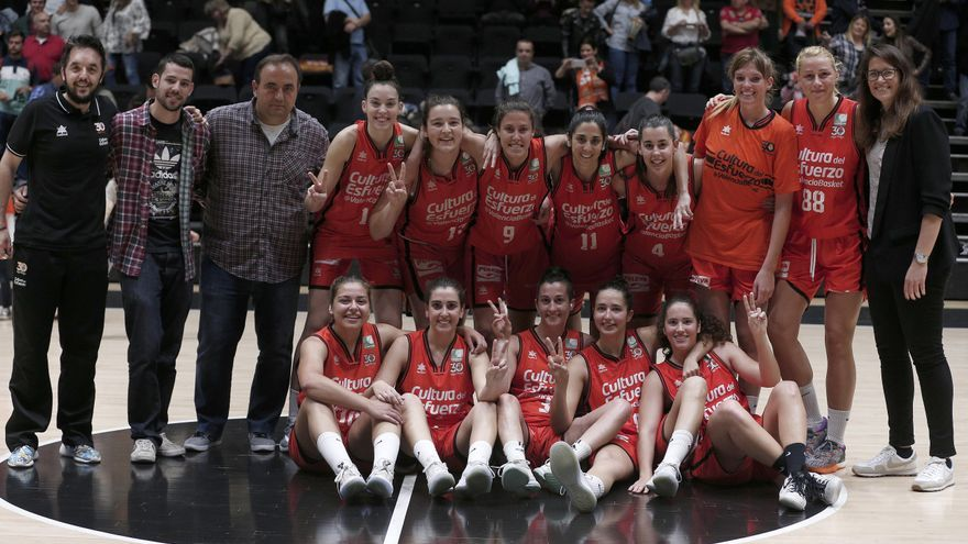 València Basket tanca amb victòria i la desena posició la seua primera temporada en Liga Femenina 2.