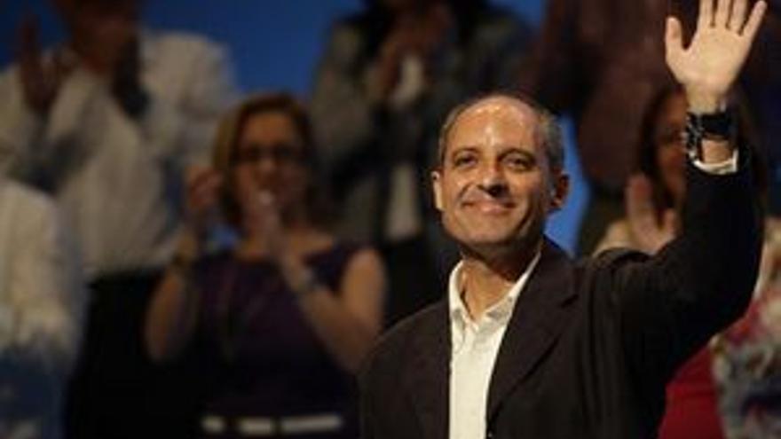 Francisco Camps, presidente de la Generalitat valenciana.