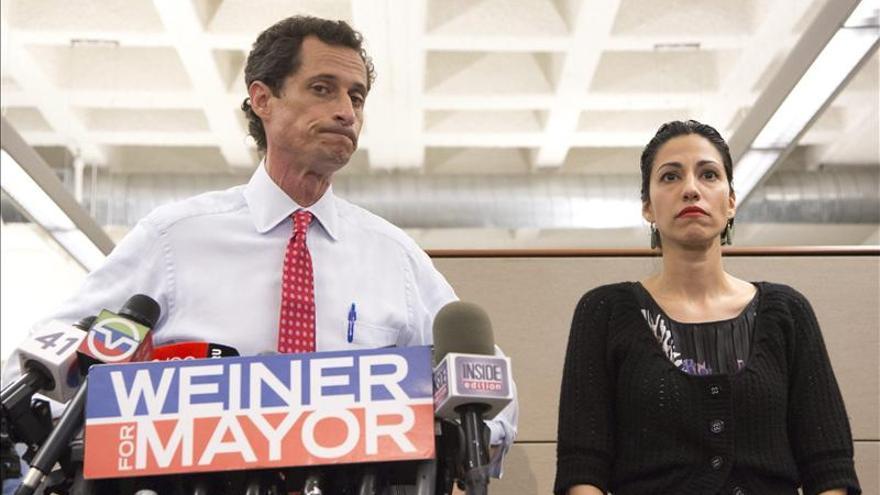 La mayoría de los neoyorquinos cree que Weiner debe dejar su campaña por la alcaldía