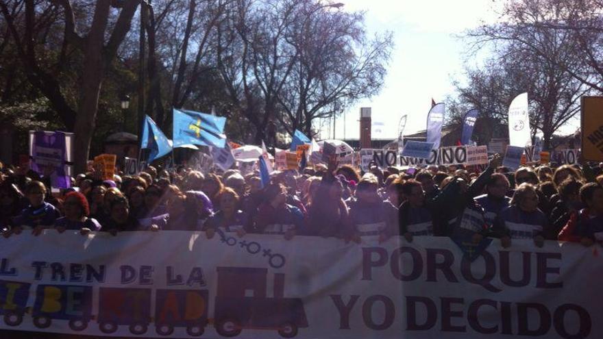 La cabecera de la protesta / David Noriega