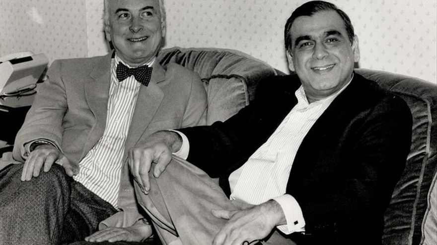 James Ivory con Ismail Merchant