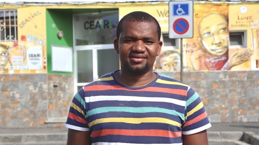Bouba, joven maliense que estuvo en 2015 en el CIE de Barranco Seco, Gran Canaria.