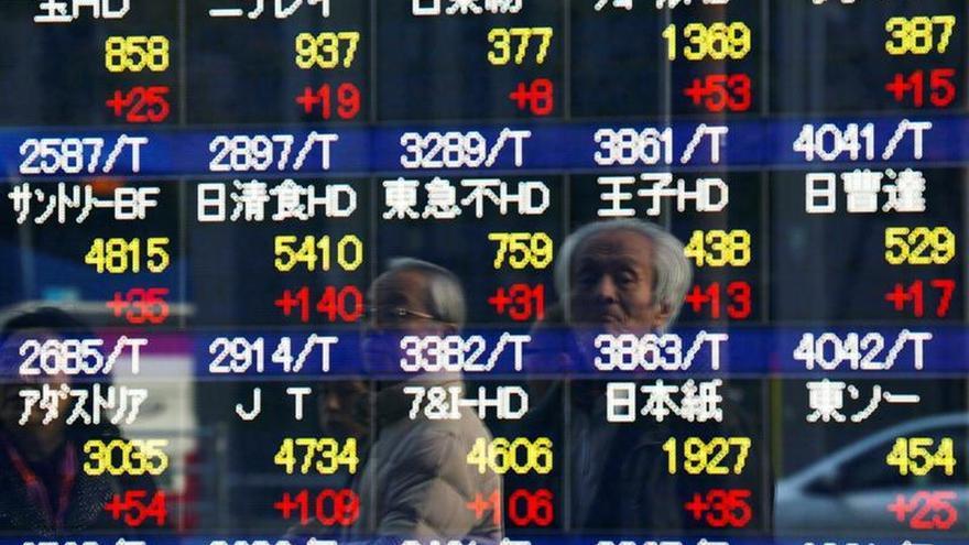 El Nikkei cae un 0,02 por ciento a la apertura hasta los 16.648,88 puntos