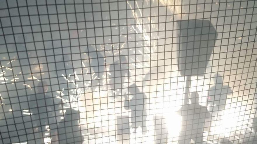 Imagen de la 'Cordà' de Paterna de la pasada madrugada