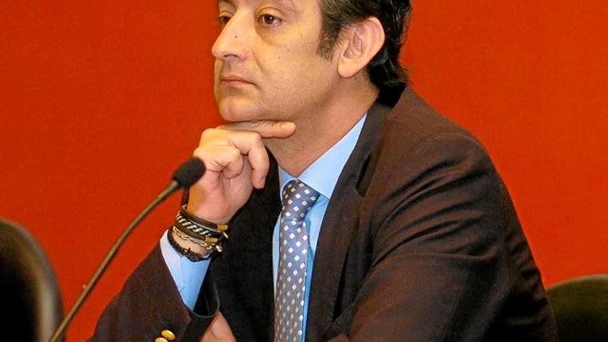 El fiscal Javier García Cabañas.