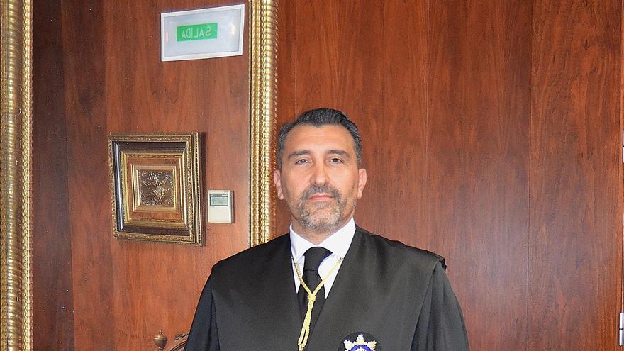 Francisco Javier Pueyo, presidente de la Sala de lo Contencioso-Administrativo del TSJN