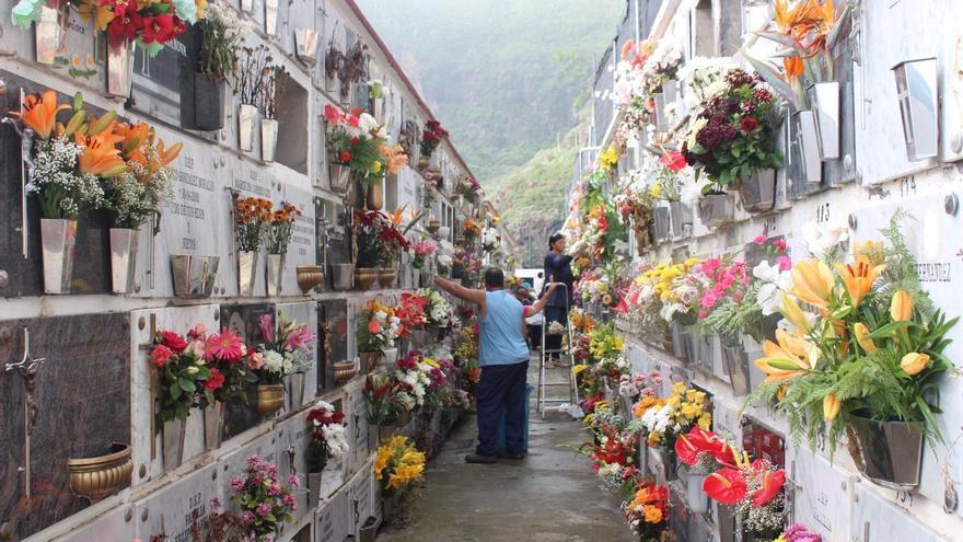 Cementerio municipal de Santa Cruz de La Palma. Foto: JOSÉ AYUT.