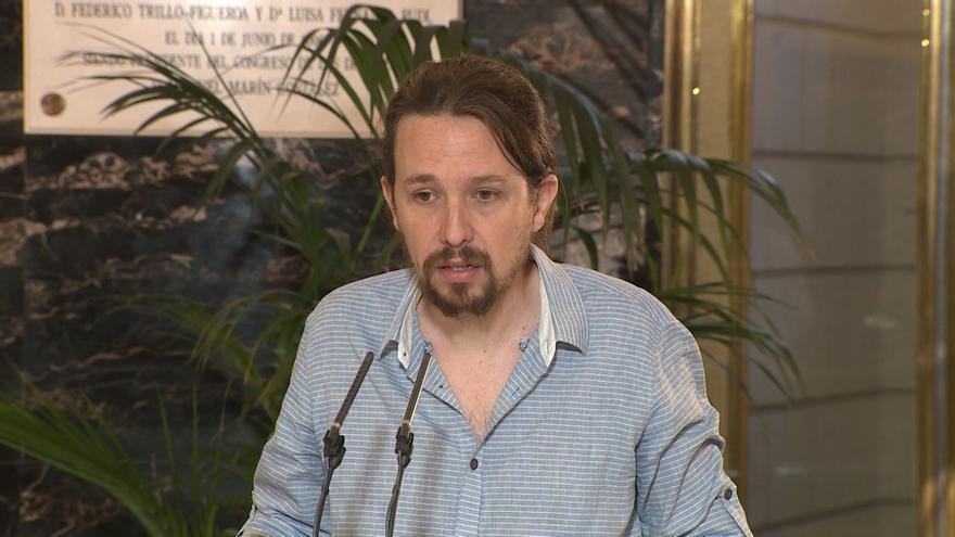 """Pablo Iglesias carga """"toda la responsabilidad"""" sobre el PSOE y le exige que elija: """"Rajoy, Podemos o elecciones"""""""