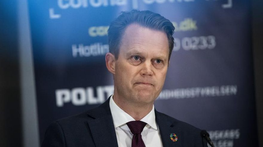 El ministro de Asuntos Exteriores danés, Jeppe Kofod.