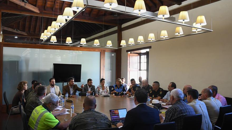 Reunión de coordinación del dispositivo de seguridad y emergencias de las Fiestas del Cristo.