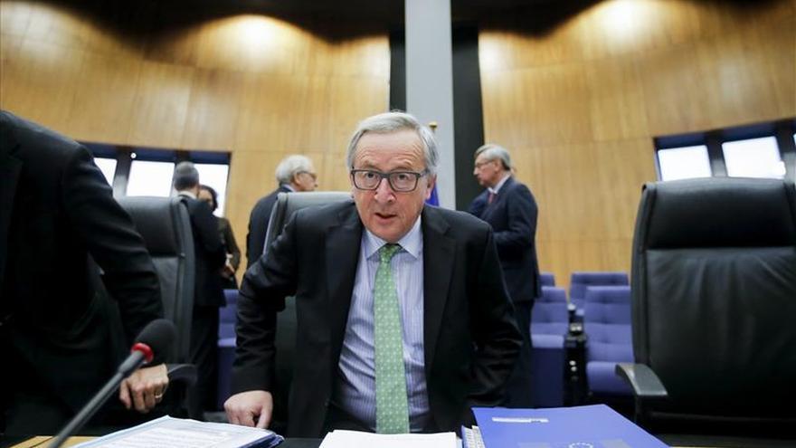 Juncker cree en una solución a las reclamaciones de Londres en febrero