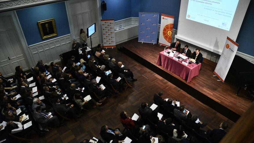 Imagen del 5º Foro Elcano de Terrorismo Global celebrado este martes por el Real Instituto Elcano.
