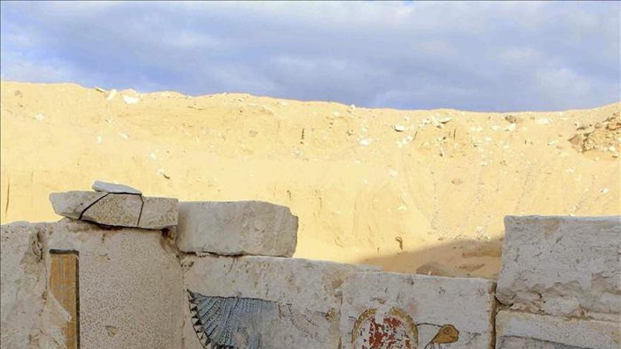 Descubren en Egipto la tumba de un faraón hasta ahora desconocido
