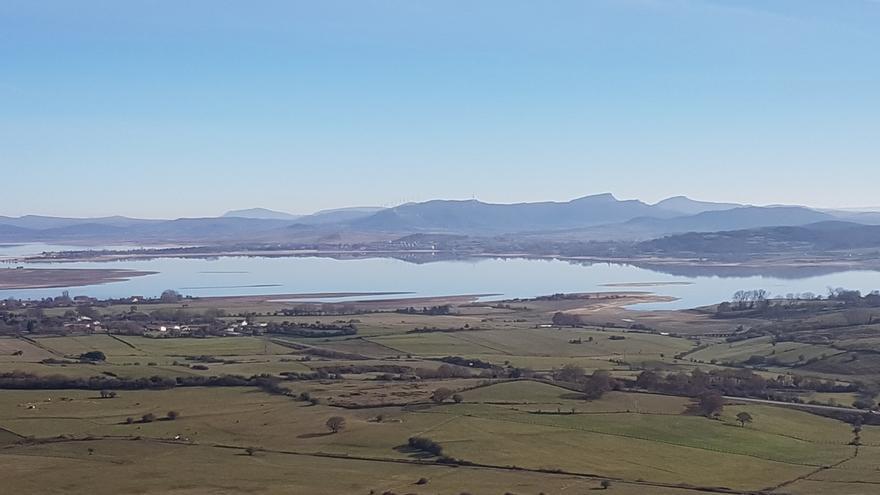 El embalse del Ebro roza el 42% de su capacidad tras ganar 9,4 hm3 de agua en la última semana