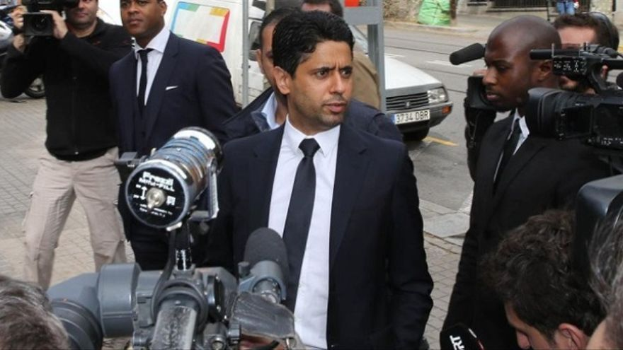Nasser Al-Khelaïfi, presidente del PSG.