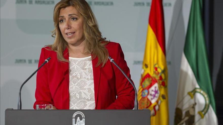 Susana Díaz asume la culpa del PSOE en la situación de Cataluña y rechaza el derecho a decidir