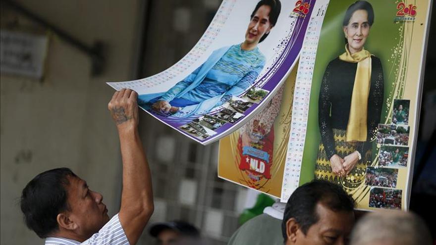 El principal partido opositor se acerca a la mayoría absoluta en Birmania